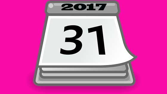 2017 compliance calendar